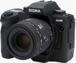 Sigma's SD10 digital camera. Copyright © 2003, The Imaging Resource. All rights reserved.