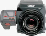Sinar's Hy6 digital medium-format camera. Courtesy of Sinar, with modifications by Michael R. Tomkins.