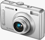 Samsung's SL310W digital camera. Courtesy of Samsung, with modifications by Michael R. Tomkins.
