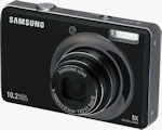 Samsung SL420 digital camera. Photo provided by Samsung Electronics America Inc.