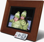 """Smartparts' 8.4"""" SPDPF84 digital picture frame. Courtesy of Smartparts, with modifications by Michael R. Tomkins."""