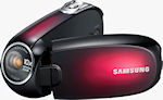 Samsung's SMX-C20 digital camcorder. Photo provided by Samsung Electronics America Inc.