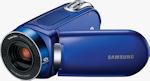 Samsung SMX-F34 digital camcorder. Photo provided by Samsung Electronics America Inc.
