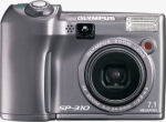 Olympus' SP-310 digital camera. Courtesy of Olympus, with modifications by Michael R. Tomkins.