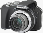 Olympus' SP-550 UltraZoom digital camera. Courtesy of Olympus, with modifications by Michael R. Tomkins.