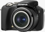 Olympus' SP-560 Ultra Zoom digital camera. Courtesy of Olympus, with modifications by Michael R. Tomkins.