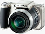 Olympus' SP-800UZ digital camera. Photo provided by Olympus Imaging America Inc.