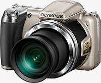 Olympus' SP-810UZ digital camera. Photo provided by Olympus Europa Holding GmbH.