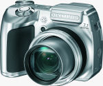 Olympus' SP-510 UltraZoom digital camera. Courtesy of Olympus, with modifications by Michael R. Tomkins.