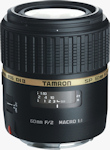 Tamron's SP AF60mm F/2.0 Di II LD (IF) MACRO 1:1 lens. Photo provided by Tamron Co. Ltd.