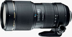 Tamron's SP AF70-200mm F/2.8 Di lens for Nikon with built-in AF Motor (Model A001N II). Courtesy of Tamron, with modifications by Michael R. Tomkins.