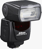 Nikon's Speedlight SB-700 flash strobe. Photo provided by Nikon Inc.