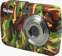 Rollei's Sportsline 60 in Camouflage color scheme. Photo provided by RCP-Technik GmbH & Co. KG.