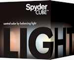 Datacolor SpyderCube packaging. Photo provided by Datacolor Inc.