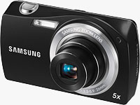 Samsung's ST6500 digital camera. Photo provided by Samsung Electronics Co. Ltd.