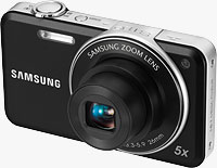 Samsung's ST95 digital camera. Photo provided by Samsung Electronics Co. Ltd.