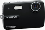 Olympus' Stylus-550WP digital camera. Photo provided by Olympus Imaging America Inc.