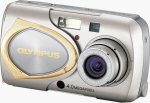 Olympus' Stylus 410 digital camera. Courtesy of Olympus, with modifications by Michael R. Tomkins.