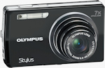 Olympus' Stylus-7000 digital camera. Photo provided by Olympus Imaging America Inc.