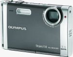 Olympus' Stylus 730 digital camera. Courtesy of Olympus, with modifications by Michael R. Tomkins.