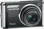 Olympus' Stylus-9000 digital camera. Photo provided by Olympus Imaging America Inc.