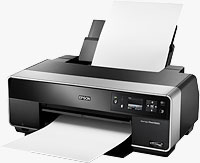 Epson's Stylus Photo R3000 printer. Photo provided by Epson America Inc.