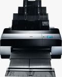 Epson's Stylus Pro 3800 photo printers. Courtesy of Epson, with modifications by Michael R. Tomkins.