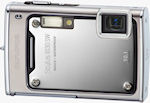 Olympus' Stylus 1030 SW digital camera. Courtesy of Olympus, with modifications by Michael R. Tomkins.