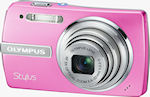 Olympus' Stylus 840 digital camera. Courtesy of Olympus, with modifications by Michael R. Tomkins.