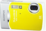 Olympus' Stylus 850 SW digital camera. Courtesy of Olympus, with modifications by Michael R. Tomkins.