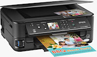 Epson Stylus NX625 all-in-one. Photo provided by Epson America Inc.