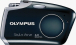 Olympus' Stylus Verve digital camera. Courtesy of Olympus, with modifications by Michael R. Tomkins.