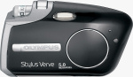 Olympus's Stylus Verve S digital camera. Courtesy of Olympus, with modfications by Michael R. Tomkins.