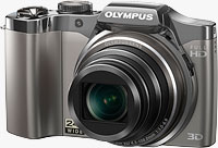 Olympus' SZ-30MR digital camera. Photo provided by Olympus Imaging America Inc.