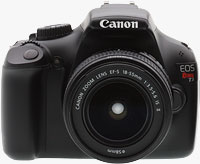 The Canon EOS Rebel T3 digital SLR. Photo copyright ©2011, Imaging Resource. All rights reserved.