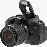 Canon Rebel T3i / EOS 600D digital SLR camera.  Copyright © 2011, The Imaging Resource. All rights reserved.