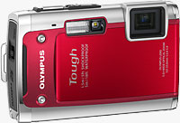 Olympus' Tough TG-610 digital camera. Photo provided by Olympus Imaging America Inc.
