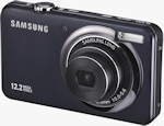 Samsung TL100 digital camera. Photo provided by Samsung Electronics America Inc.