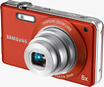 Samsung's TL110 digital camera. Photo provided by Samsung Electronics America Inc.