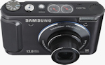 Samsung's TL320 digital camera. Photo provided by Samsung Electronics America Inc.