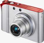 Samsung's TL34HD digital camera. Courtesy of Samsung, with modifications by Michael R. Tomkins.