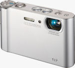 Samsung's TL9 digital camera. Courtesy of Samsung, with modifications by Michael R. Tomkins.