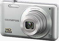 Olympus' VG-120 digital camera. Photo provided by Olympus Imaging America Inc.