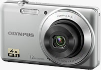 Olympus' VG-110 digital camera. Photo provided by Olympus Imaging America Inc.