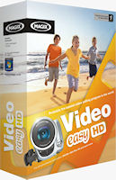 Magix' Video Easy HD product packaging. Click here to visit the Magix website!