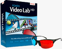 VideoLab HD product packaging. Image provided by Sonic Solutions.