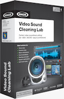 The product packaging for Magix Video Sound Cleaning Lab. Rendering provided by Magix AG.