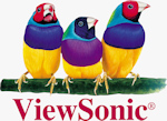 ViewSonic's logo. Click here to visit the ViewSonic website!