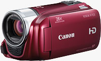 Canon's VIXIA HF R20 camcorder. Photo provided by Canon USA Inc.