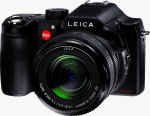 Leica's V-LUX 1 digital camera. Courtesy of Leica, with modifications by Michael R. Tomkins.